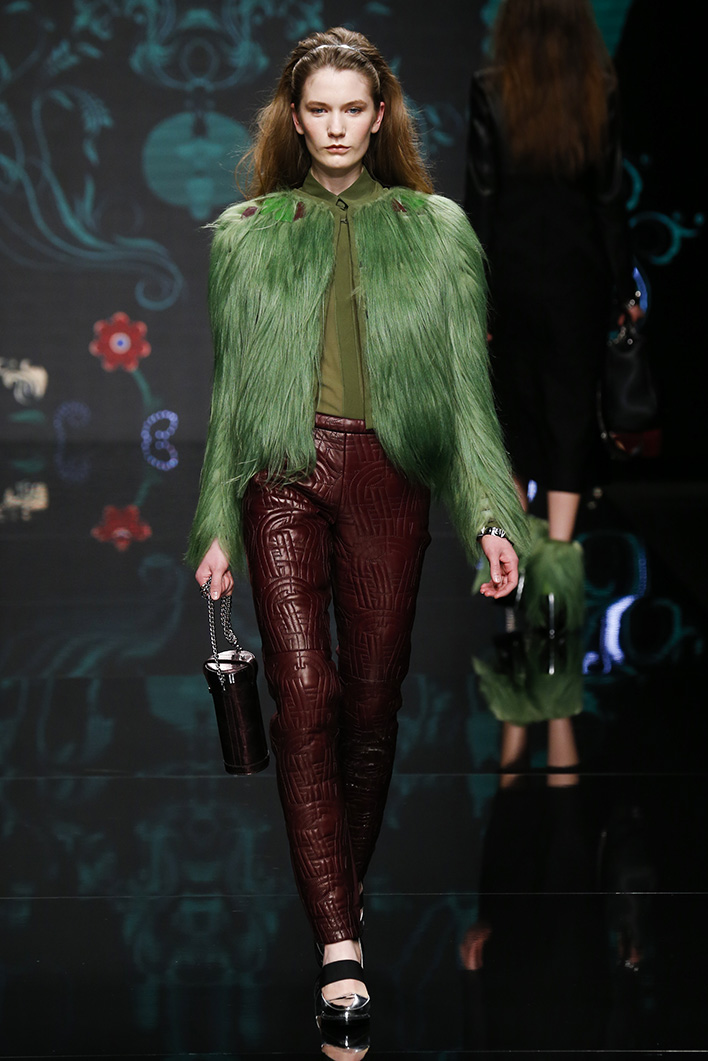 Milan woman fashion Week Fall Winter 2015-16Aigner show
