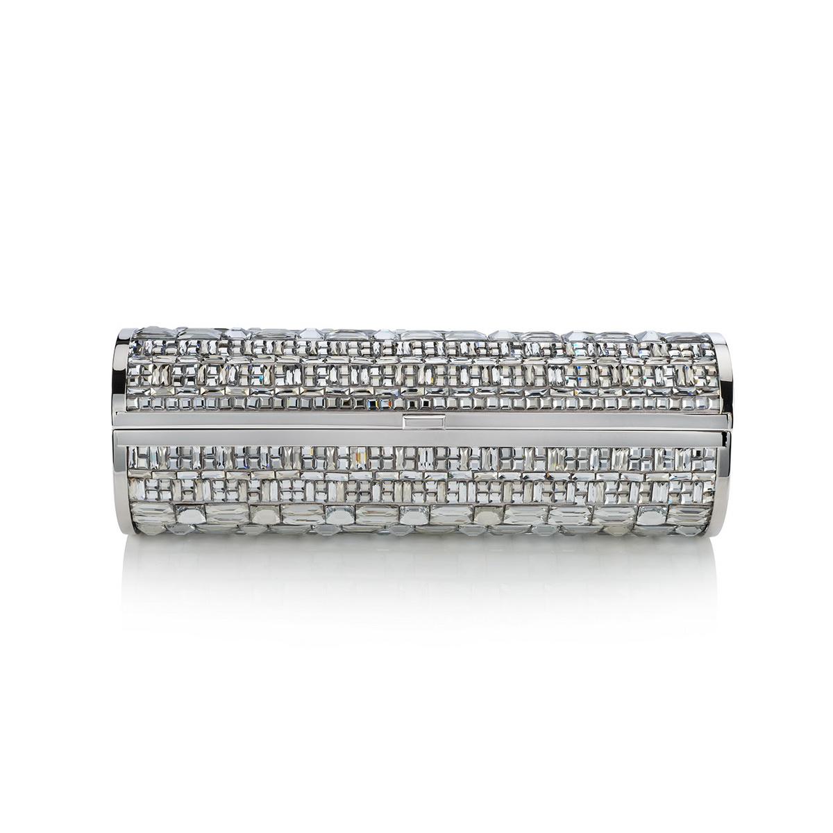 COSMA- SATIN W GRAPHIC CRYSTAL PAVE- CRYSTAL MIX