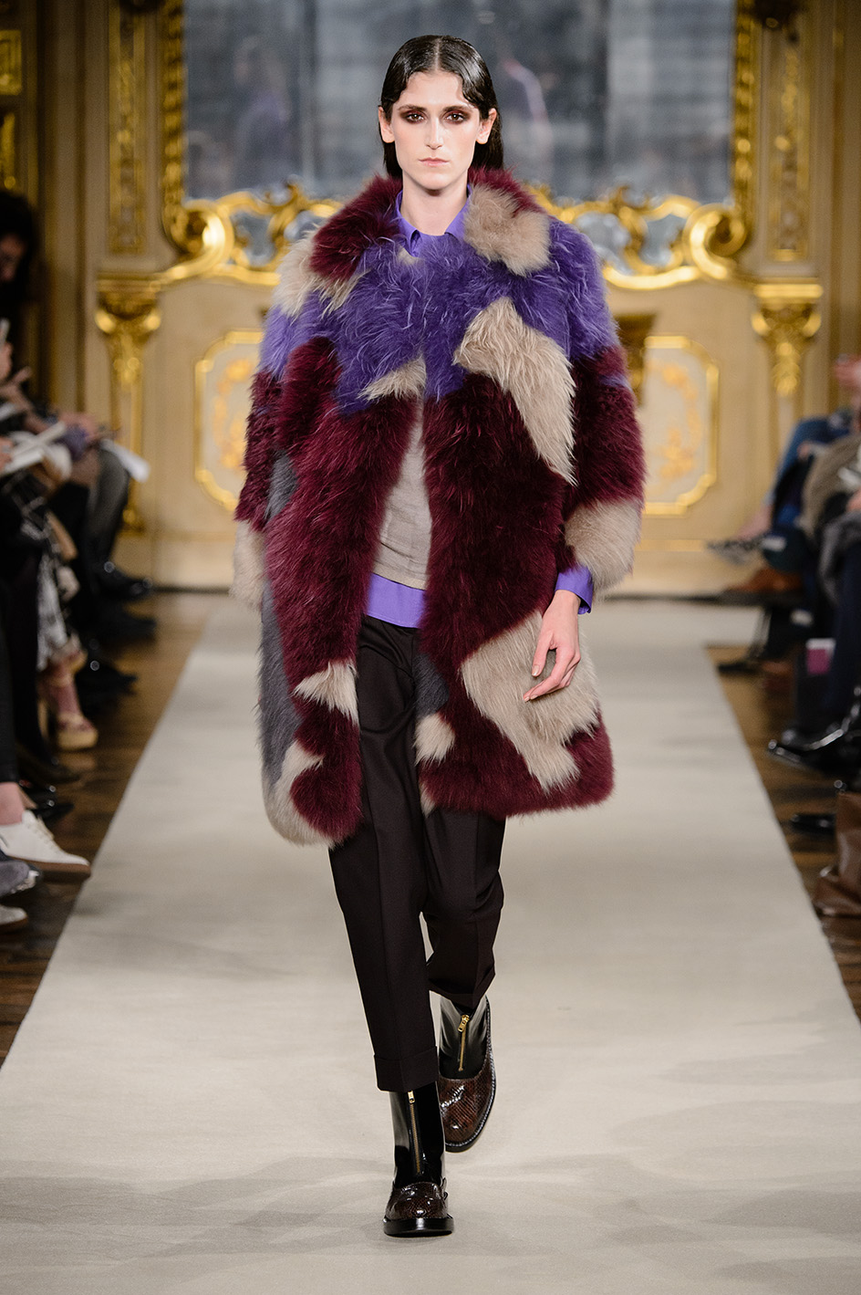 Milan woman fashion Week Fall Winter 2015-16Cividini  show