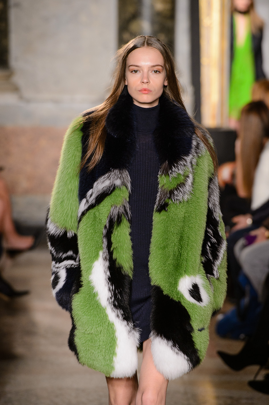 Milan woman fashion Week Fall Winter 2015-16Emilio Pucci  show