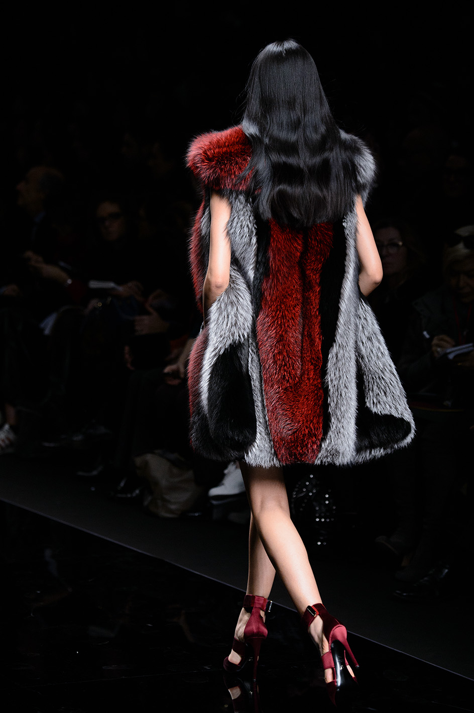 Milan woman fashion Week Fall Winter 2015-16Ermanno Scervino  show
