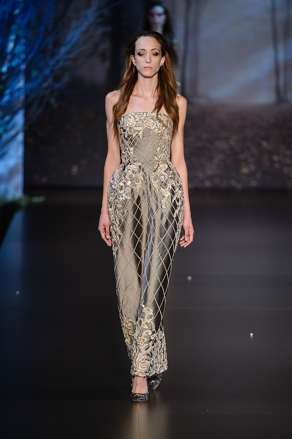 Paris Haute Couture Fashion week Fall Winter 2015-2016 Ralph and Russo