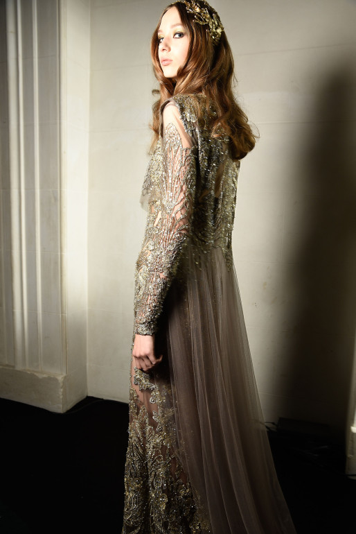 Paris Haute Couture Fashion week Fall Winter 2015-2016 Elie Saab
