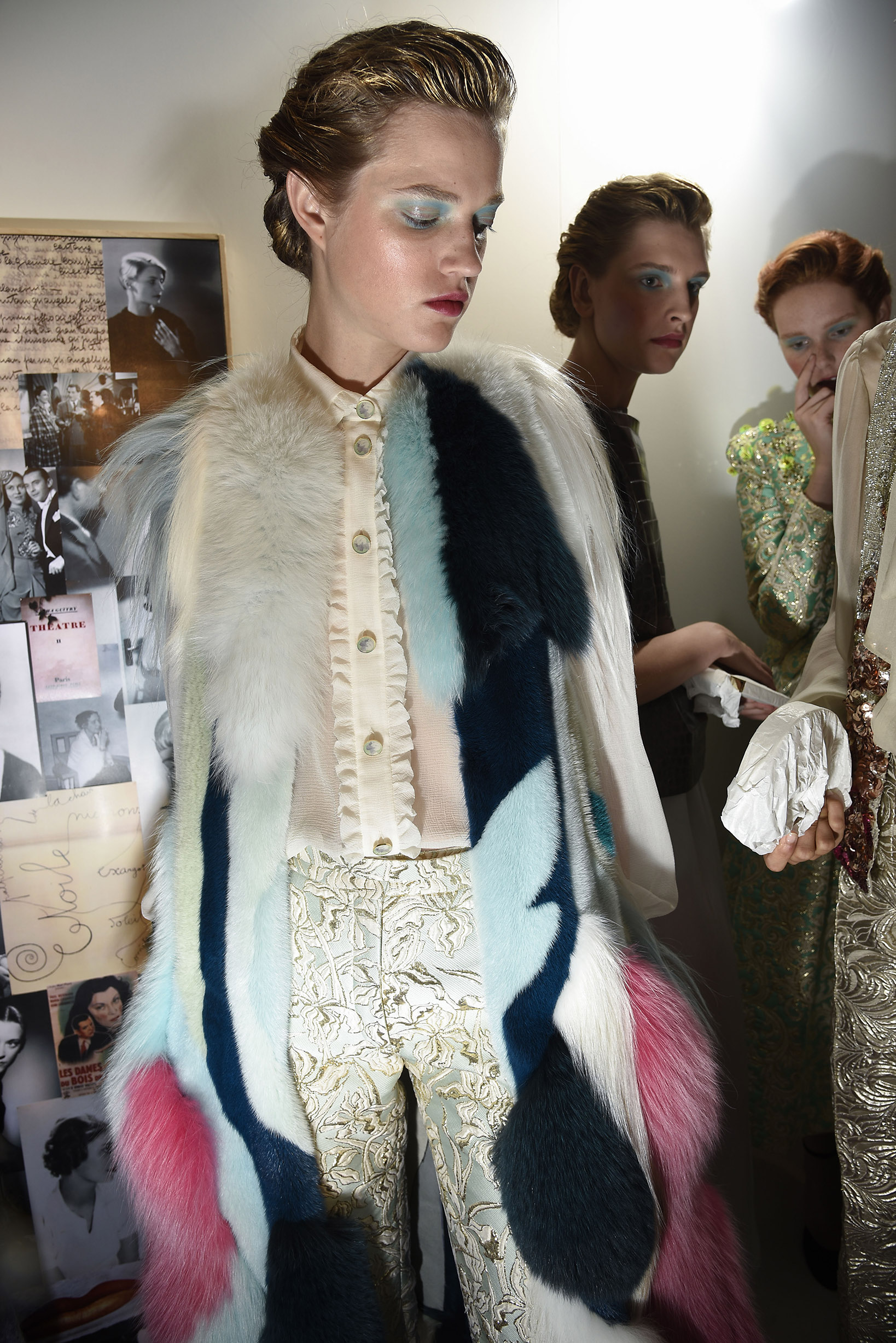 Paris Haute Couture Fashion week Fall Winter 2015-2016 Schiaparelli