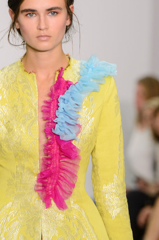London Woman Fashion Week Spring Summer 2017 Emilio De La Morena show