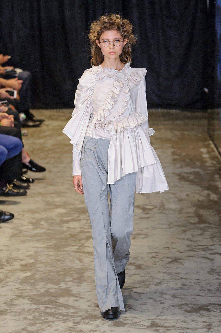 Paris Woman Fashion Week Spring Summer 2017 Anne Sofie Madsen show