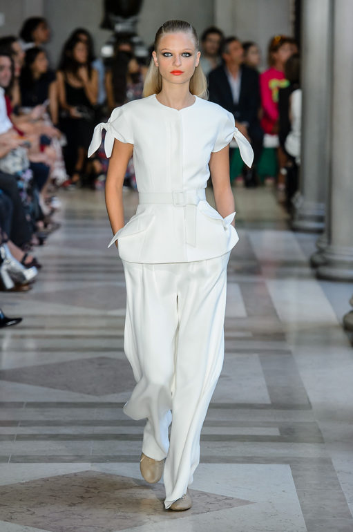 New York Woman Fashion Week Spring Summer 2017 Carolina Herrera
