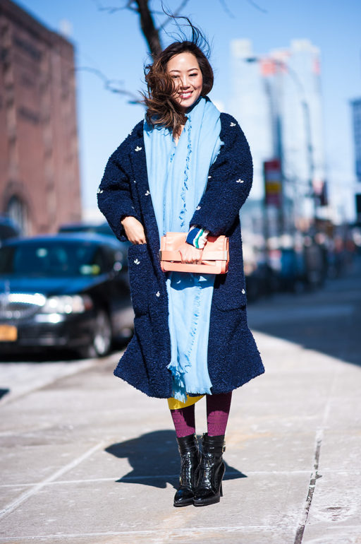 New York woman fashion Week Fall Winter 2015-16 In the picture: Aimee Song