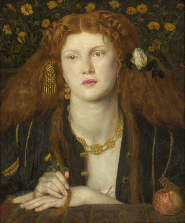 Bocca Baciata (Lips That Have Been Kissed) Dante Gabriel Rossetti