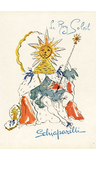 """Le Roy Soleil"", . ©Salvador Dalí.Fundació Gala-Salvador Dalí,Artists Rights Society (ARS)."