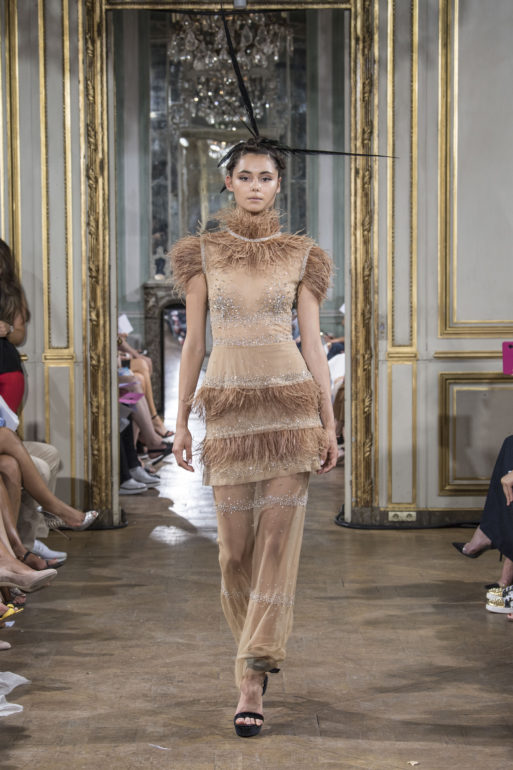 Haute Couture, fall winter 2018 2019, Paris, Celia Kritharioti